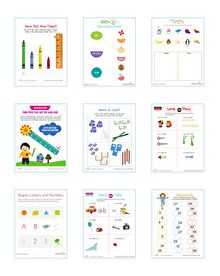 Help your child hone important basic math skills with this fun collection of counting, patterning and comparing worksheets.