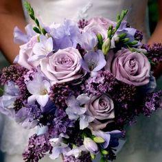 86878e57b47a Purple Wedding Bouquets 25 Cute Purple Wedding Bouquets Ideas On