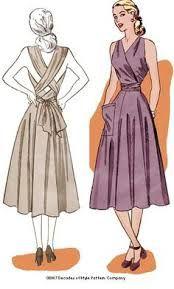 Resultado de imagem para Vintage Chic Summer Patterns 1948
