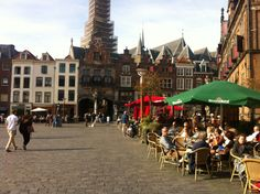 The own square of Nijmegen on holland!!