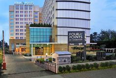 #FourPointsbySheraton #Pune is a luxurious 5 Star hotel Located 3 km from #PuneInternationalAirport. This pune hotels is an ideal choice for business or leisure traveller. The hotel offers 217 well furnished guest room and suites with High Speed Internet Access. #punehotels #punediaries #travel