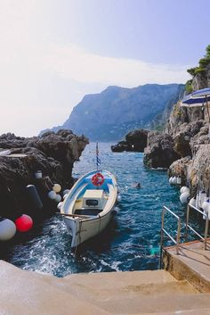 "Naples, Italy | About 40 minutes on a boat separate beautiful Naples from the quaint, charming Isle of Capri. Cruise with Royal Caribbean to Naples and book the Capri On Your Own excursion to explore the ""Island of Dreams."""