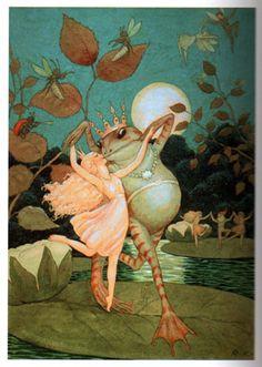 Fairytale Illustrations by Rudolf Koivu.(Finland)