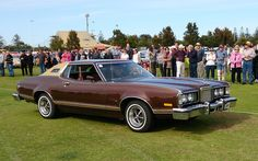 1975 or 1976 Mercury Cougar XR-7 2-Door Hardtop