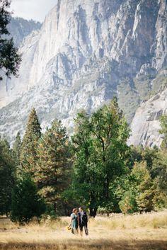 Simple sweet Yosemite Elopement: http://www.stylemepretty.com/destination-weddings/2014/07/21/simple-sweet-yosemite-elopement/ | Photography: http://www.athenakalindiphotography.com/