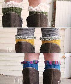 Embellished Knees Socks
