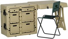 With 6 drawers and a field chair, take your office anywhere. The #Pelican 472 Field Desk.