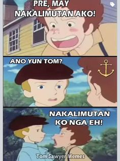 Oo nga naman Bisaya Quotes, Tagalog Quotes Hugot Funny, Hugot Quotes, Cartoon Quotes, Cute Quotes, Qoutes, Memes Pinoy, Memes Tagalog, Pinoy Quotes
