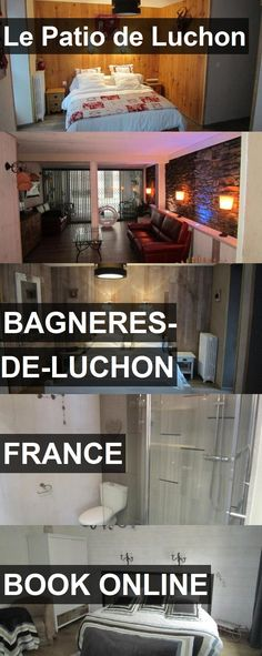 Hotel Le Patio de Luchon in Bagneres-de-Luchon, France. For more information, photos, reviews and best prices please follow the link. #France #Bagneres-de-Luchon #travel #vacation #hotel