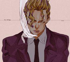 Yoshikage Kira - Gud art - fave characters - JJBA - DIU
