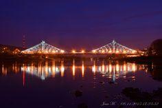 Blaues Wunder - Loschwitzer Brücke in Dresden - 08.11.2015 17:23:32 von Jean Martin