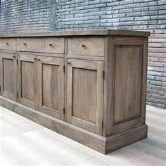 Wall Cabinet French Commode'