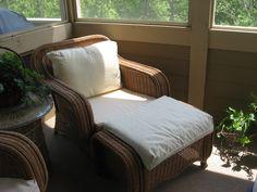 Corded Chair & Ottoman Patio Cushions -  Upper Arlington, Ohio