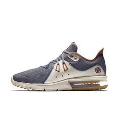 online store 82347 9eb36 Nike Air Max Sequent 3 Premium VST Men s Running Shoe - Blue