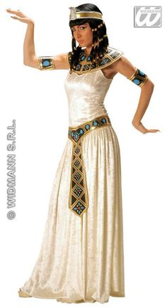 Ladies Deluxe Egyptian Empress Cleopatra Fancy Dress Costume: Premium Egyptian themed fancy dress costume perfect for any party. Cleopatra Fancy Dress, Egyptian Fancy Dress, Egyptian Costume, Cleopatra Costume Kids, Ancient Egypt Fashion, Egyptian Fashion, Egyptian Beauty, Halloween Kostüm, Couple Halloween