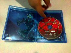 "UNBOXING | Spider-Man ""Blu Ray Sencillo"""
