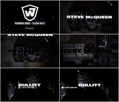 Bullitt Opening Title Sequence - Fonts In Use