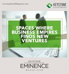Keystone Eminence - Spaces where business empires finds new ventures www.keystonelifespaces.com #wakad #commercial #Office #Industry