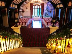 Christmas wedding at The Brig O'Doon.