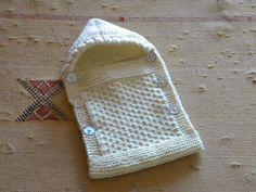 Ana Maria tricoecrochebebe -: Saco porta bebê em tricô