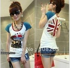 Aliexpress.com : Buy Hot Sell 2014 New Fashion Style Summer Women T Shirt UK Flag Print Sexy Hollow Out Girl 's T shirts Casual Tops T613 from Reliable shirt necktie suppliers on YOUGOU FASHION (HK) INDUSTRY CO.,LIMITED  | Alibaba Group