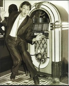 The Beatles - Paul McCartney and jukebox