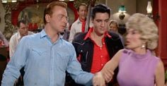 'Tickle Me'. Here we can see how much Elvis did for his friends. This is Red West who was Elvis' bodyguard and who he helped get into movies