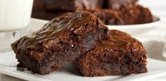 Chocolate-eedy Brownies recipe from HERB