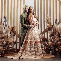 15 Favorite Looks In This Month Of April :- Wanderlust Fashion Couple Wedding Dress, Wedding Dresses, Vancouver Photography, Shyamal And Bhumika, Indian Bridesmaids, Lengha Choli, Bohemian Bride, Groom Outfit, Sherwani