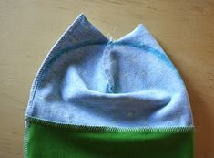 Minimille et ses dix doigts: bonnet bébé en jersey + tuto