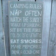 Camping @Yvette Adams reminds me of you.