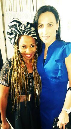 Suzette Marais - Top Model South Africa director and Vanya Mangaliso, Sungoddess Fashion House South Africa, Crown, House Styles, Celebrities, Model, Tops, Fashion, Moda, Corona