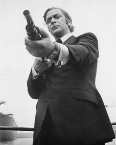 Michael Caine in Get Carter! (1971) One of the best ever British gangster films.