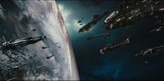 What's The Greatest Spaceship Money Shot Of All Time? Serentity with Reavers behind them