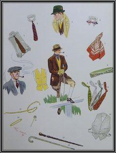Gentleman's Gazette | Accessoires für Frühling & Sommer – Apparel Arts 1932 – Fell Sharp