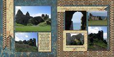 2015, Scotland, Dunure Castle - Scrapbook.com