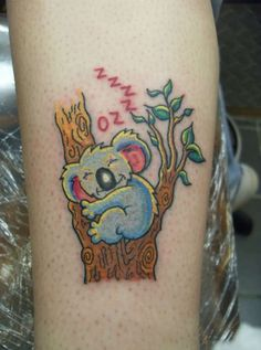 koala tattoo adventures in oz my new tattoo tattoos pinterest rh pinterest com simple koala bear tattoos koala bear tattoo tumblr