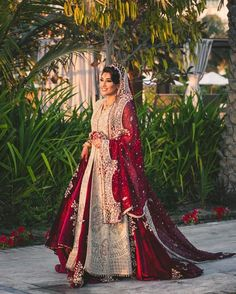 """shaadifashion: """" memoirz"""" - New Ideas - wedding-dresses - Asian Bridal Dresses, Asian Wedding Dress, Pakistani Wedding Outfits, Indian Bridal Outfits, Pakistani Bridal Dresses, Pakistani Wedding Dresses, Indian Dresses, Pakistani Clothing, Wedding Hijab"""
