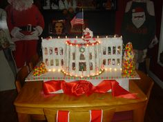 My daughter was honored to receive a congressional internship and in her honor, I made the White House that Christmas. Can i make you one ? Email me at judypwhite @ gmail.com and let's talk !