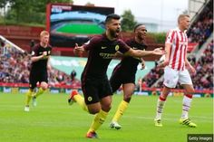#EPL: Iheanacho Shines As Aguero Nolito's Brace Sinks Stoke City