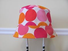 Reversible Bucket HAT / Baby Hat / Sun Hat / by hipbabyboutique