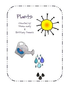 Check it out!This is a hands-on fun unit for teaching about plants. Students will engage in learning about plants through reading, writing, and science! Preschool Education, Kindergarten Science, Early Education, Science Classroom, Teaching Science, Preschool Projects, Classroom Ideas, Science Resources, Science Lessons