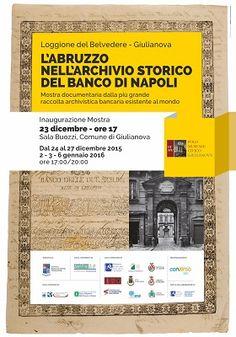 """Mostra """"L'Abruzzo nell'Archivio storico del Banco di Napoli"""" a Giulianova"""