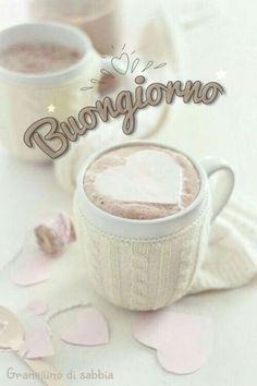 Good Morning Coffee, Good Morning Quotes, Coffee Time, Italian Memes, Knit Art, Happy Day, Good Day, Decir No, Place Card Holders