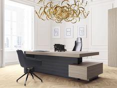 Descarga el catálogo y solicita al fabricante Jera   escritorio de oficina con cajones By las mobili, escritorio de oficina rectangular con cajones con estantes, Colección jera