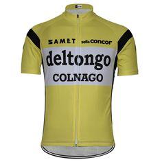 Retro Team Del Tongo Colnago Cycling Jersey | Freestylecycling.com
