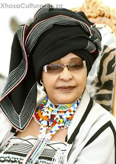 South African anti-apartheid activist Winnie Mandela has died. at the age of Winnie was formerly married to anti-apartheid activist and South Africa's first black President Nelson Mandela for 38 years, 27 of those years during his imprisonment. Xhosa Attire, African Attire, African Wear, African Women, African Dress, African Clothes, African Style, African Print Fashion, African Fashion Dresses