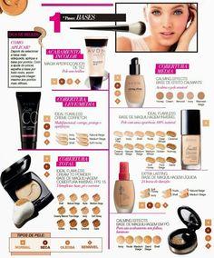 Tudo sobre Avon: Maquilhagem profissional em 4 passos :)