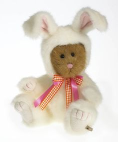 Another great find on #zulily! Bear in Bunny Suit Plush Collectible by Boyds #zulilyfinds