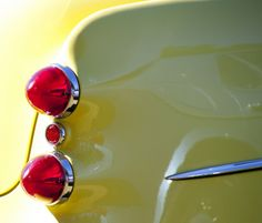 Classic Car Tail End | vintage | antique | taillights | by vpickering Flickr photography